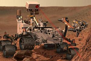 Artist's Rendition of NASA's Curiosity Rover
