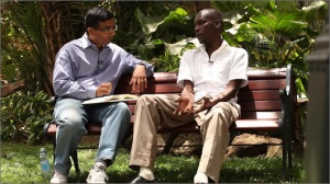 Dinesh D'Souza interviews George Obama,