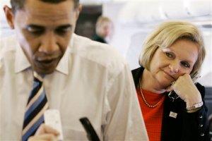 Admiring Obama Minion, Claire McCaskill (D-MO)