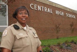 School Resource Officer Carolyn Gudger